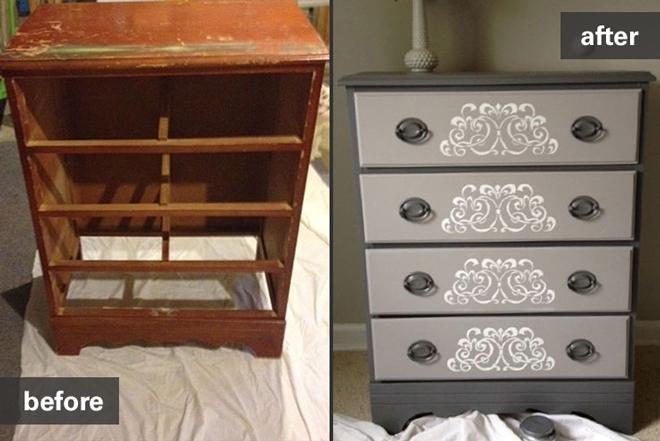 Vintage dresser - Restoring Vintage Furniture And Antiques Habitat ReStore