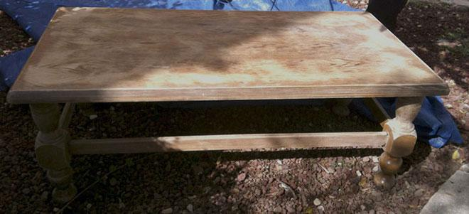 Ways to upcycle a coffee table Step 3