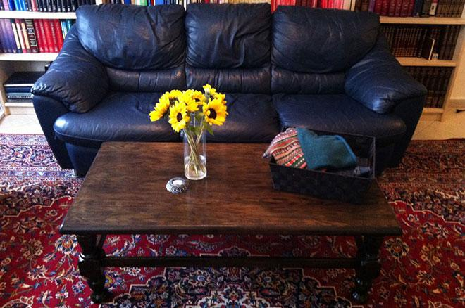 Ways to upcycle a coffee table Step 8
