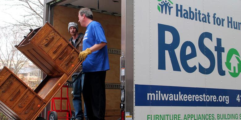 Milwaukee Deconstruction services by Habitat ReStore