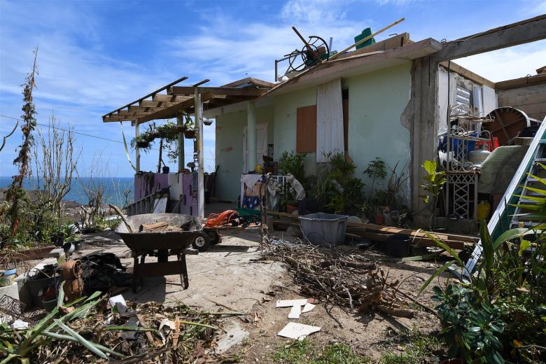 Hurricane Maria aftermath Puerto Rico