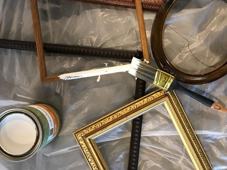 Paint your Habitat ReStore frames (photo 2)