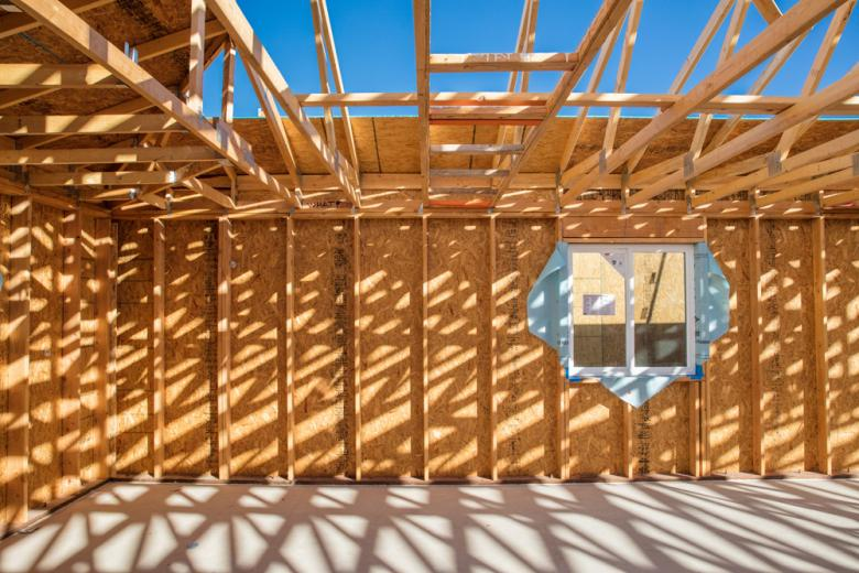 build site house framing