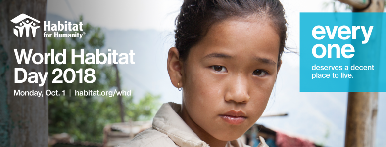 World Habitat Day, Facebook cover page image