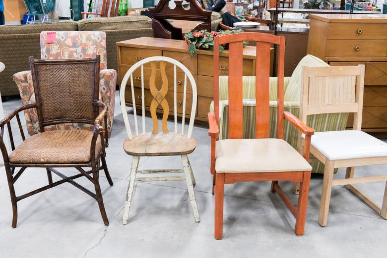 Habitat ReStore chairs