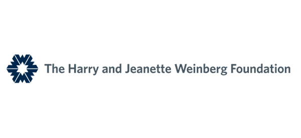 The Weinberg Foundation logo.