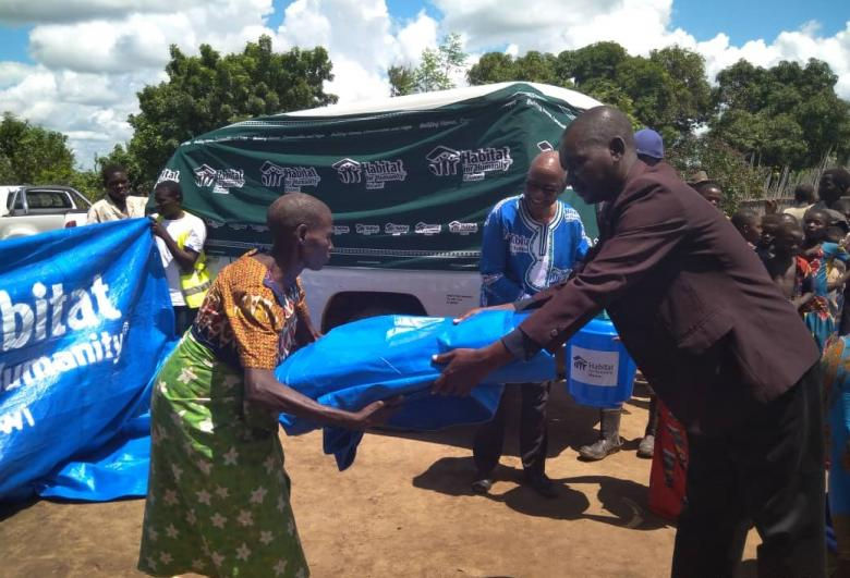 Photo: Habitat for Humanity Malawi is distributing emergency shelter kits after the devastating floods