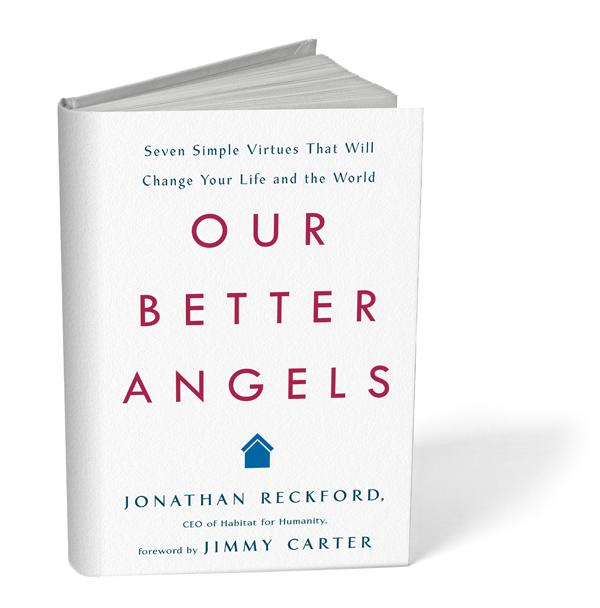 Our better Angels book cover.
