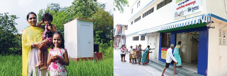 The Sensitise to Sanitise Coalition built individual toilets as well as community sanitation facilities.