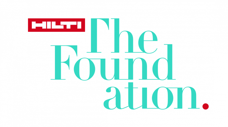 Hilti Foundation logo.