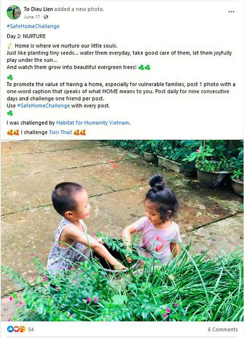 A post from Vietnam in response to #StayHomeChallenge.