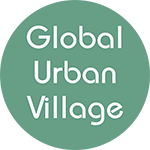 Global Urban Village logo.